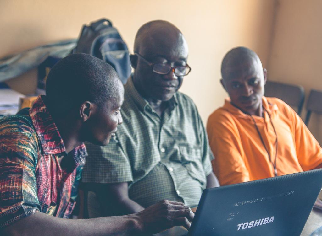 Mr. Kamara translating