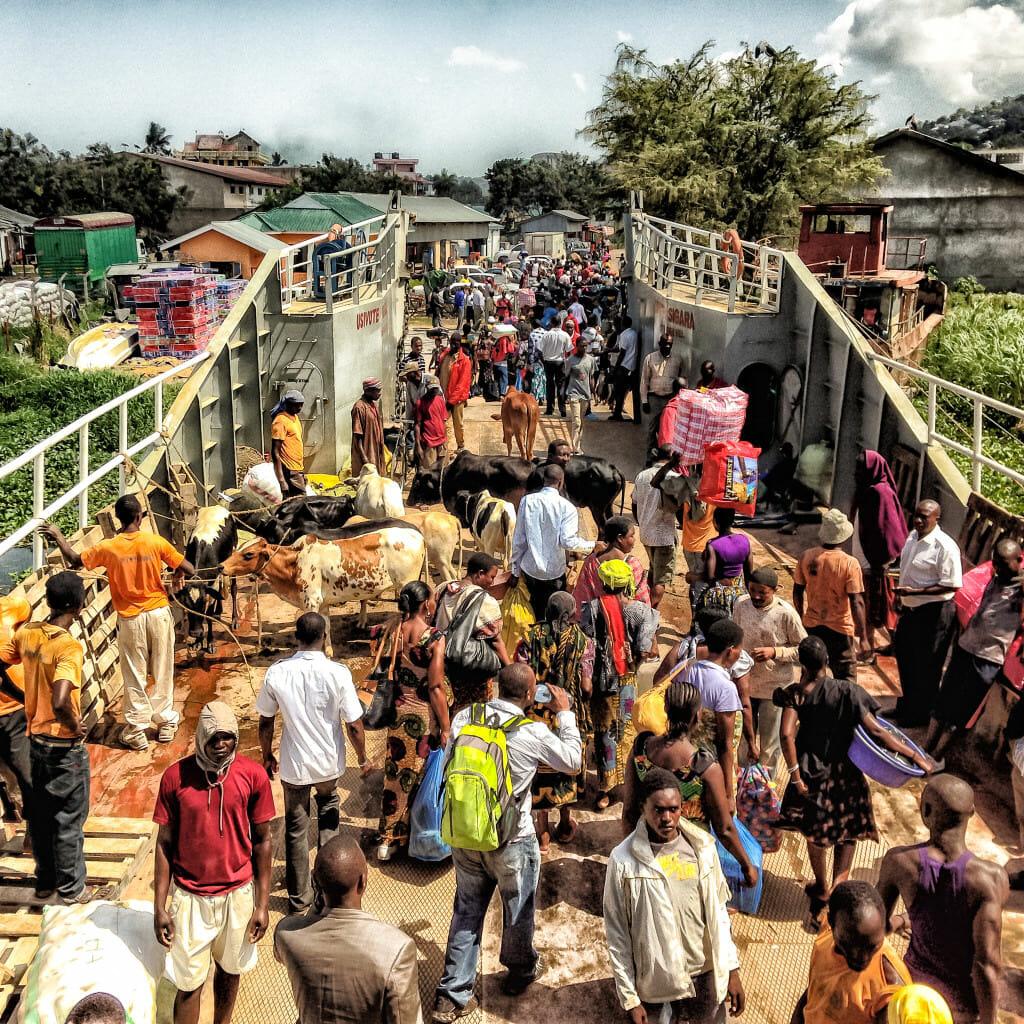 Tanzanian docks