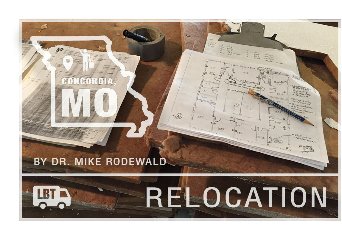 Relocation - Nothing Changes - by Dr. Mike Rodewald