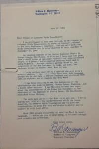 congress letter